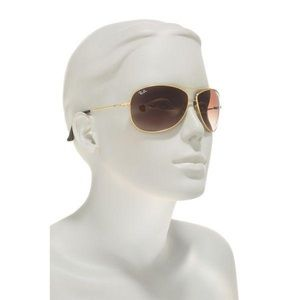 Ray Ban Aviator Gold Frame with Brown GradientLens
